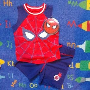 ♥️🆕 Spiderman 2pc Tank/Short Set